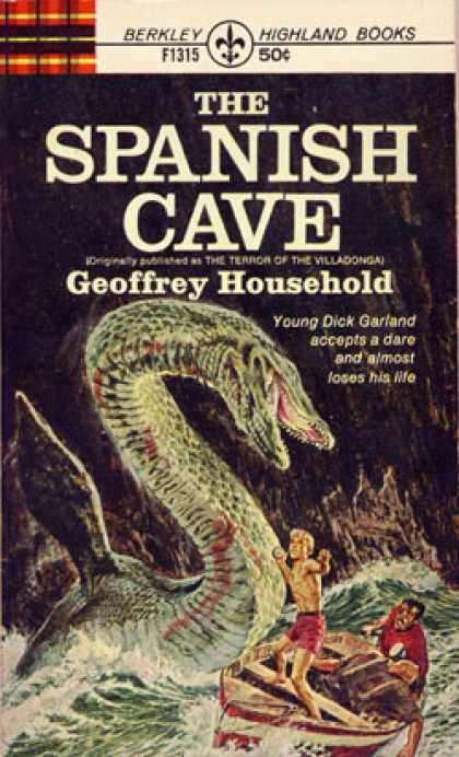 "Berkley Books - The Spanish Cave - Originally Published As ""The Terror of Villadonga"""