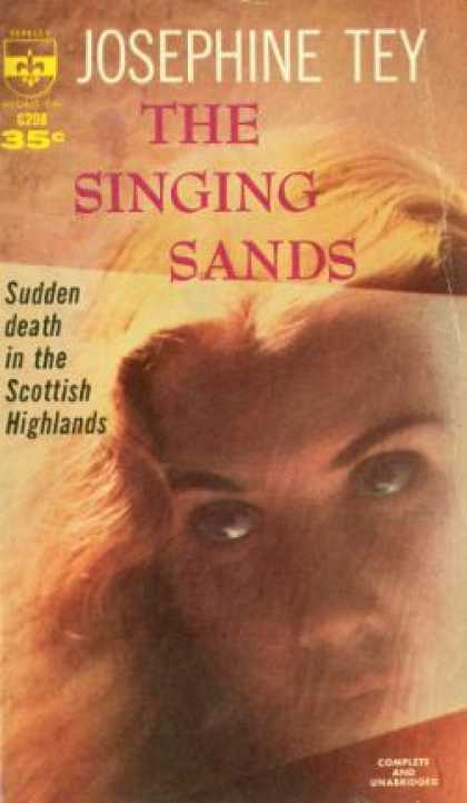 Berkley Books - The Singing Sands - Josephine Tey