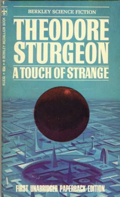 Berkley Books - A Touch of Strange - Theodore Sturgeon