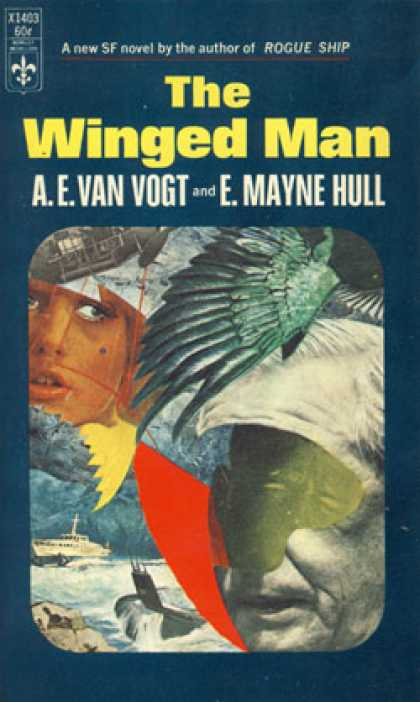 Berkley Books - The Winged Man - A. E. Van Vogt and E. Mayne Hull