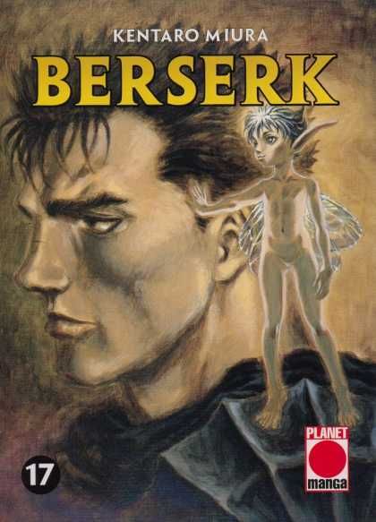 Berserk 17 - Kentaro Miura - Angel - Shoulder - Manga - Face