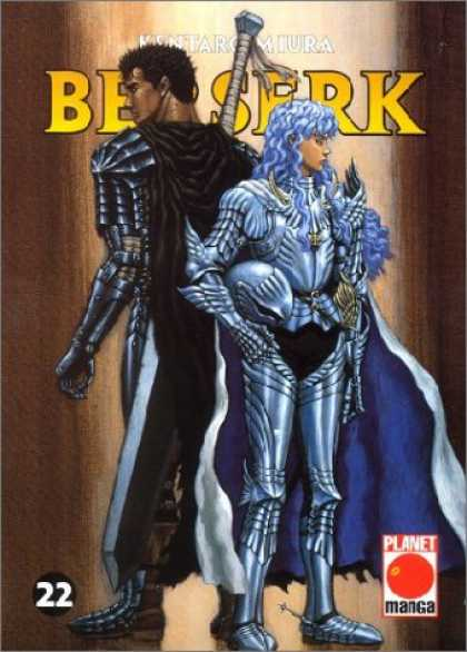 Berserk 22 - Sword - Cape - Silver - Wings - Helmet