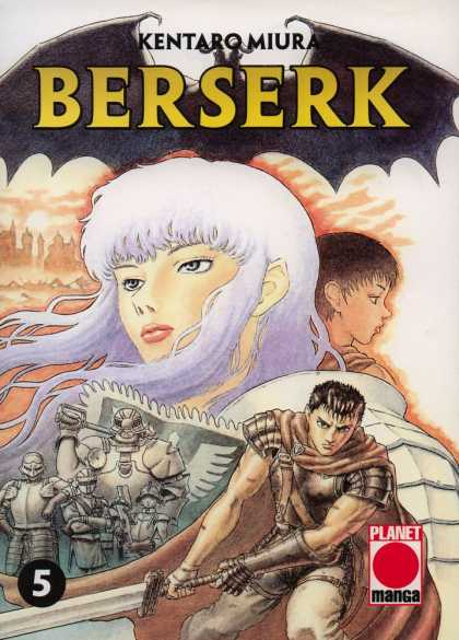 Berserk 5 - Kentarqmiura - Hero - One Man Army - Country Saver - Brave Solider