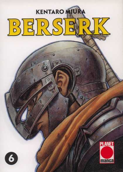 Berserk 6 - Warrior - Shield - Mask - Sword - Battle