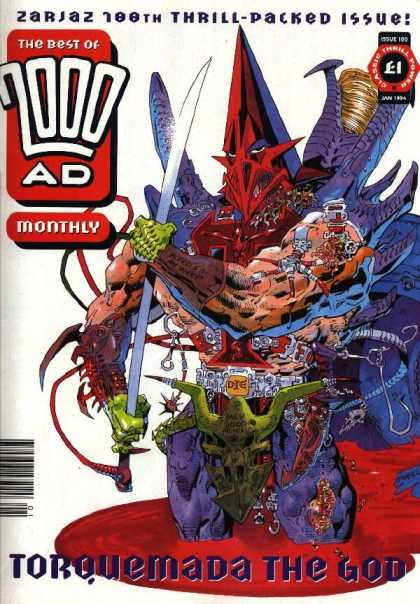 Best of 2000 AD 100