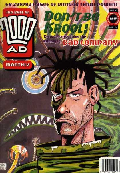 Best of 2000 AD 102 - Beard - Man - Danny Franks - Monthly - Monster