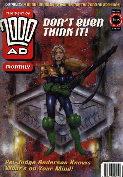 Best of 2000 AD 105