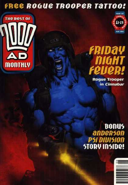 Best of 2000 AD 107 - Froday Night Fever - Rough Trooper In Cinnabar - Bonus - Anderson - Psi Division