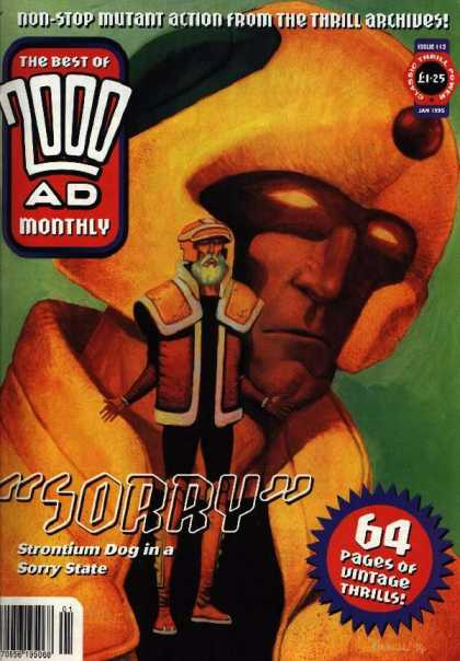Best of 2000 AD 112 - Sorry - Thrill Archives - Yellow - Glowing - Beard