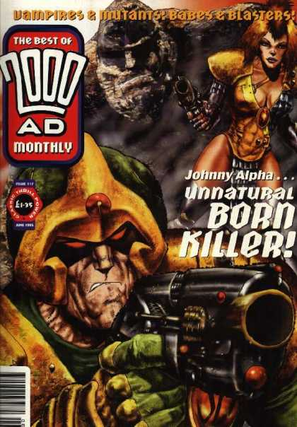Best of 2000 AD 117 - Vampires U0026 Mutants - Babes And Blasters - Johnny Alpha - Unnatural Born Killer - Guns