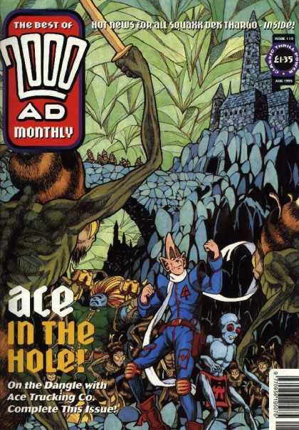 Best of 2000 AD 119 - Hot News For All Squaxx Dek Thargo - Ace In The Hole - Castle - Mosters - Ace Trucking