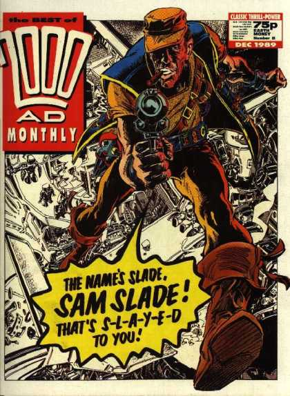Best of 2000 AD 51 - Gun - Boy - Hat - Cloth - Shoes