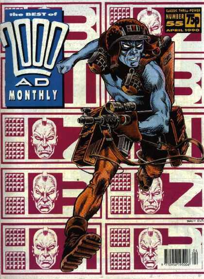 Best of 2000 AD 55 - 2000 Ad Monthly - 2000 Ad 55 - 2000 Ad April 1990 - Best Of 2000 Ad - Best Of 2000 Ad Monthly
