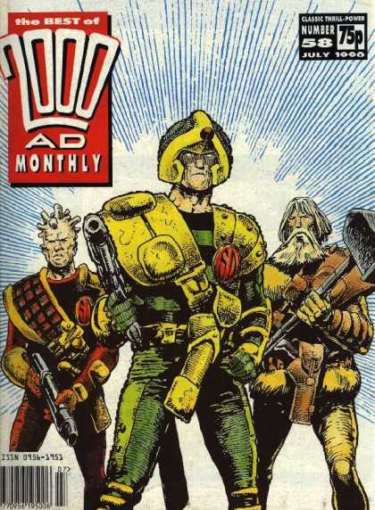Best of 2000 AD 58 - Classic Thrill - Monthly - Number 58 - July 1000 - 75p