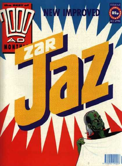 Best of 2000 AD 63 - Zar - Jaz - Monthly - New Improved - Laundry Detergent Style