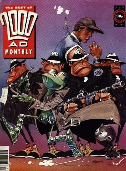 Best of 2000 AD 75 - Monthly - Frog - Robot - Hat - Mobster