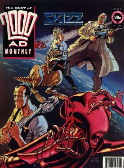 Best of 2000 AD 82 - Skizz - Gun - Aliens - Planet - Wrench