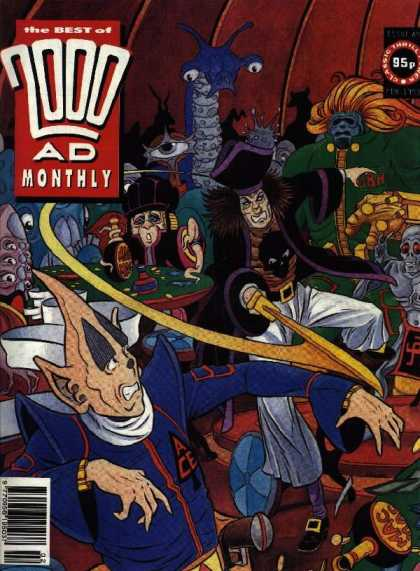 Best of 2000 AD 89 - Pirate - Poker - Aliens - Sword - 95p
