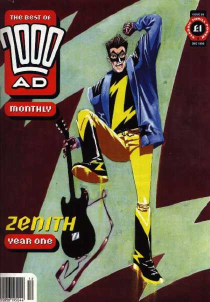 Best of 2000 AD 99 - Zenith - Mask - Guitar - Boots - Blazer
