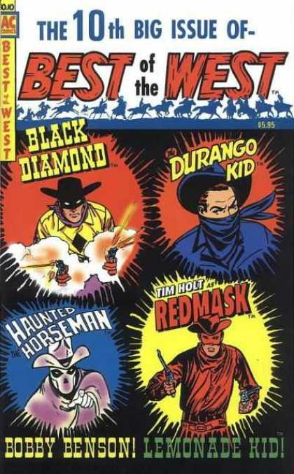 Best of the West 10 - Black Diamond - Durange Kid - Redmask - Haunted Horseman - Lemonade Kid