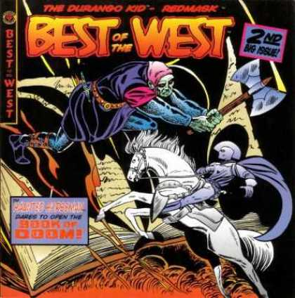 Best of the West 2 - Durango Kid - Redmark - Axe - Horse - Book