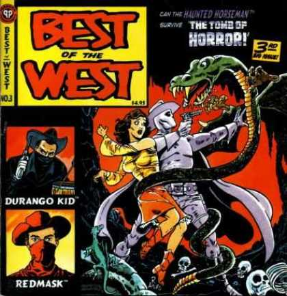 Best of the West 3 - Durango Kid - The Tomb Of Horror - Fangs - Snake - Gun