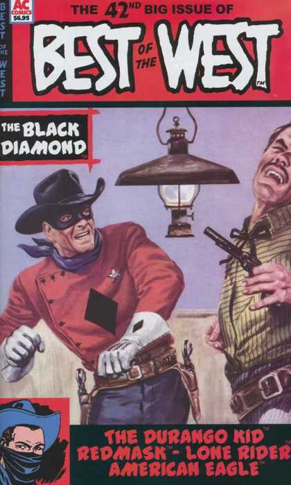 Best of the West 42 - Mask - Gun - Ac Comics - The Black Diamond - Weapon