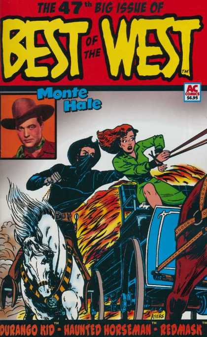 Best of the West 47 - Best Of The West - 47th Big Issue - Monte Hale - Ac Comics - Red Mask