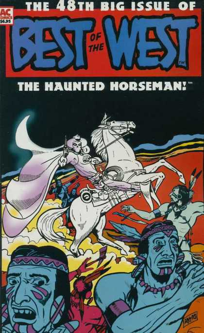 Best of the West 48 - Horseman - Indians - Haunted - Wild West - Horse
