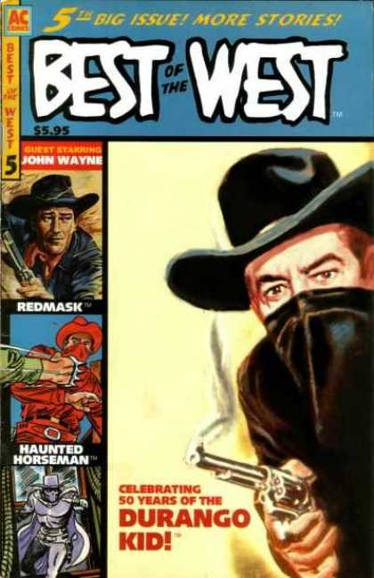 Best of the West 5 - Cowboys - Mask - Gun - Hat - Fist