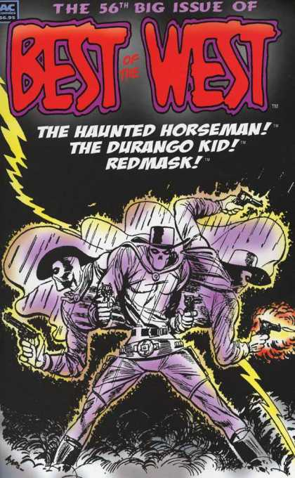 Best of the West 56 - 56th Issue - Number 56 - The Haunted Horseman - The Durango Kid - Redmask
