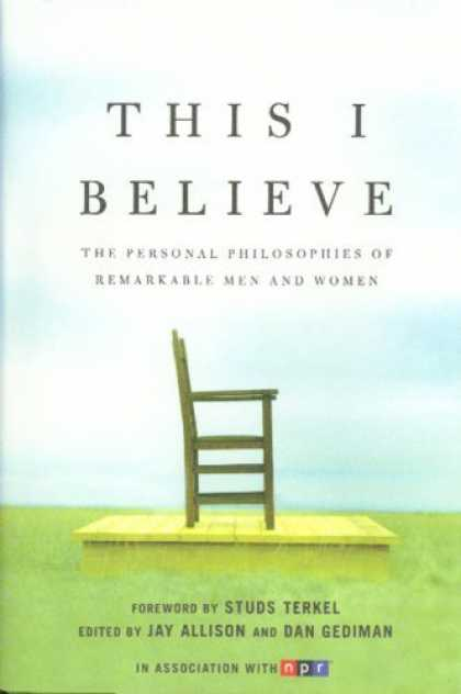 Bestsellers (2006) - This I Believe by
