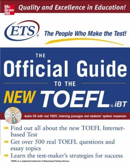 Bestsellers (2006) - TOEFL iBT: The Official ETS Study Guide (McGraw-Hill's TOEFL iBT) by Educational