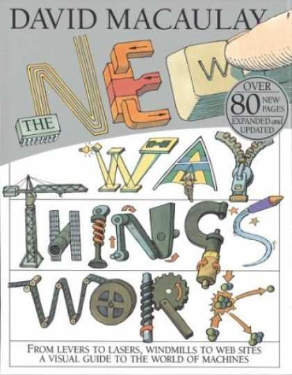 Bestsellers (2006) - The New Way Things Work by David Macaulay