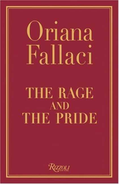 Bestsellers (2006) - The Rage and The Pride by Oriana Fallaci