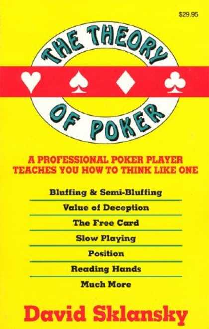 Bestsellers (2006) - The Theory of Poker by David Sklansky