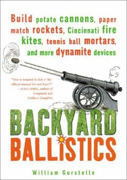 Bestsellers (2006) - Backyard Ballistics: Build Potato Cannons, Paper Match Rockets, Cincinnati Fire