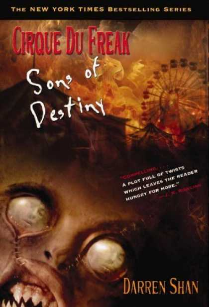 Bestsellers (2006) - Cirque Du Freak #12: Sons of Destiny: Book 12 in the Saga of Darren Shan (Cirque