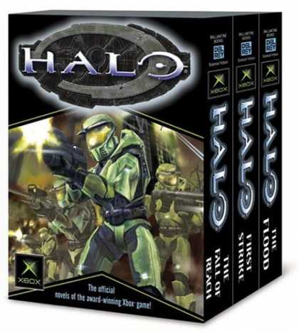 Bestsellers (2006) - Halo, Books 1-3 (The Flood; First Strike; The Fall of Reach) by Eric Nylund
