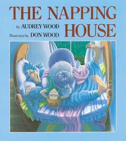 Bestsellers (2006) - The Napping House by Audrey Wood