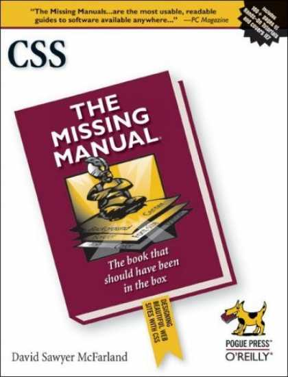 Bestsellers (2006) - CSS: The Missing Manual by David Sawyer McFarland