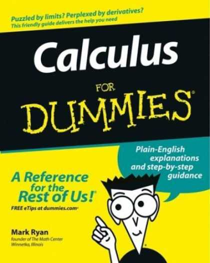 Bestsellers (2006) - Calculus for Dummies by Mark Ryan
