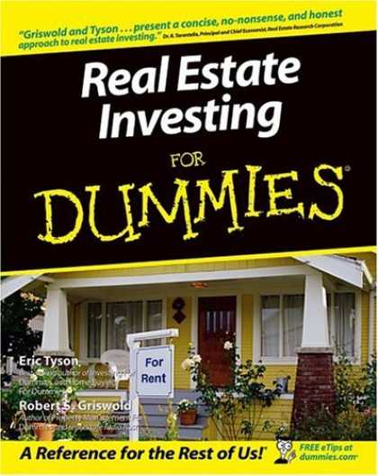 Bestsellers (2006) - Real Estate Investing for Dummies by Eric Tyson