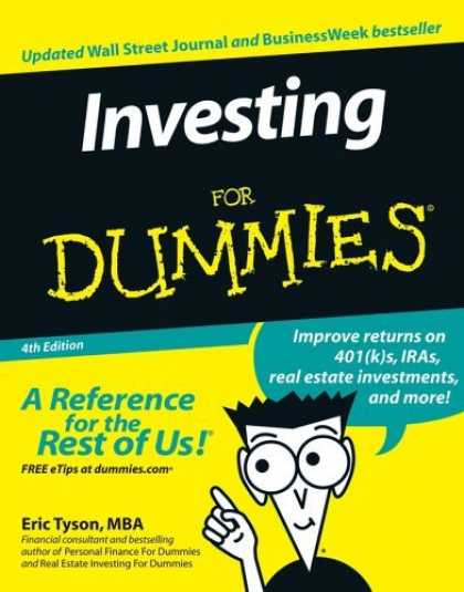 Bestsellers (2006) - Investing For Dummies, 4th Edition by Eric Tyson