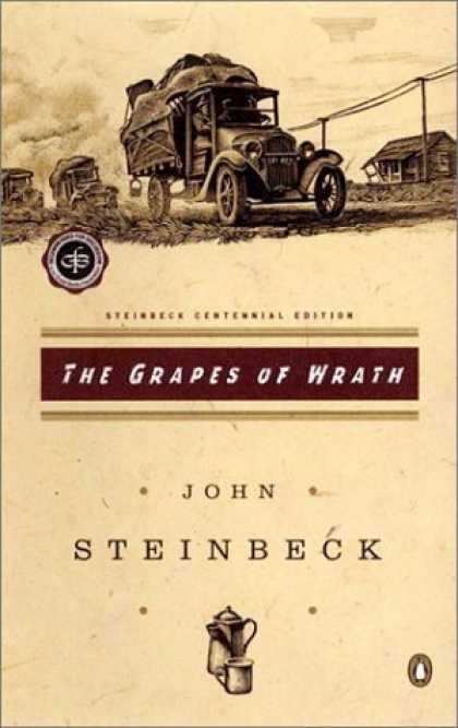 Bestsellers (2006) - The Grapes of Wrath (Centennial Edition) by John Steinbeck