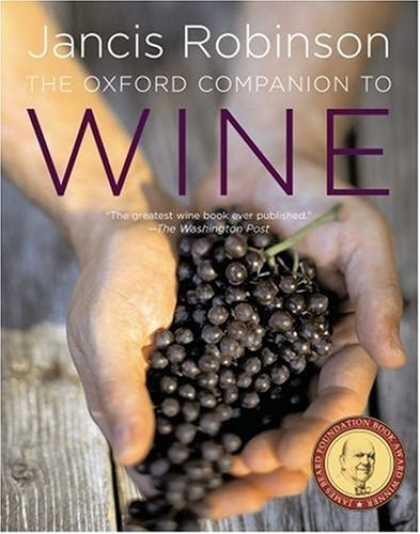 Bestsellers (2006) - The Oxford Companion to Wine, 3rd Edition by