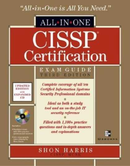 Bestsellers (2006) - CISSP All-in-One Exam Guide, Third Edition (All-in-One) by Shon Harris