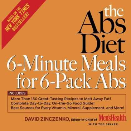 Bestsellers (2006) - The Abs Diet 6-Minute Meals for 6-Pack Abs: More Than 150 Great-Tasting Recipes