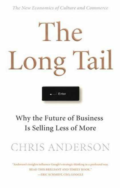 Bestsellers (2006) - The Long Tail: Why the Future of Business Is Selling Less of More by Chris Ander