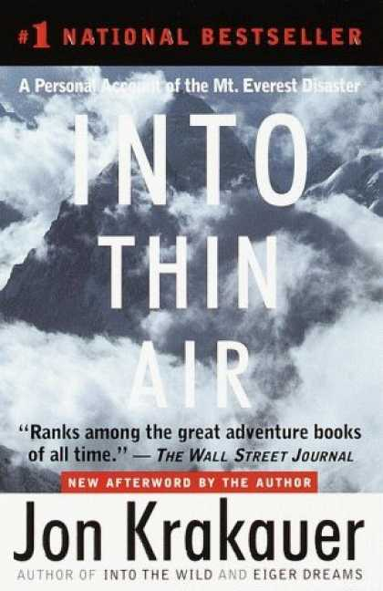 Bestsellers (2006) - Into Thin Air: A Personal Account of the Mt. Everest Disaster by Jon Krakauer